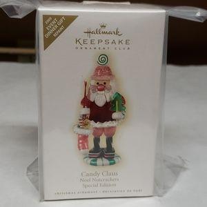 Hallmark Keepsake 2009 Candy Claus repaint Sp. ed.